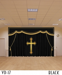 Chapel Velvet Curtains Drapery