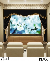 Decorative Curtain For Screen Home Movie Theater