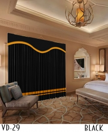 Hotel New Design Velvet Curtain