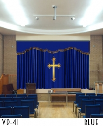 Decorative Curtain For Church Decor