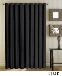 Black Grommet Curtains