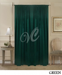 Green Room Divider Curtains
