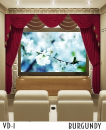 Home Theater Drapes