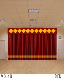 New Designer Stage Curtains