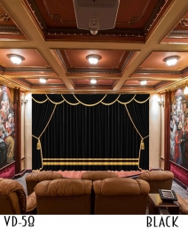 LUXURY CURTAIN FOR Hotel HALL THEATER EVENTS
