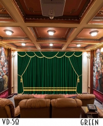 LUXURY CURTAIN FOR STAGE HALL THEATER EVENTS