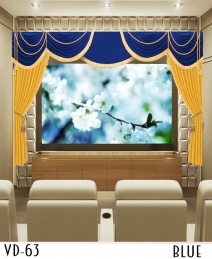 HandCrafted Velvet Curtains for Home Cinema