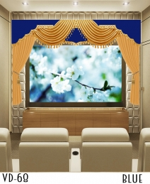 Luxury Home Theater Curtain