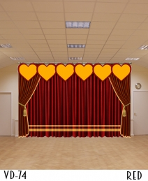 NEW HEART DESIGN STAGE CURTAINS