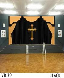 CHURCH CURTAINS DECORATIONS SANCTUARY ALTAR FOR SALE