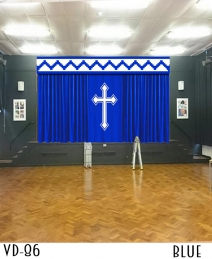 CUSTOM STAGE CURTAINS FOR CHURCHES SCHOOLS THEATERS