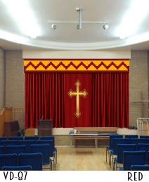 CUSTOM CHURCH CURTAINS FOR STAGE SCHOOLS THEATERS
