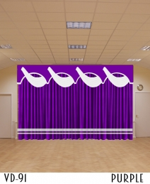 VELVET CURTAINS FOR STAGE CHURCH BACKDROP THEATER HOME