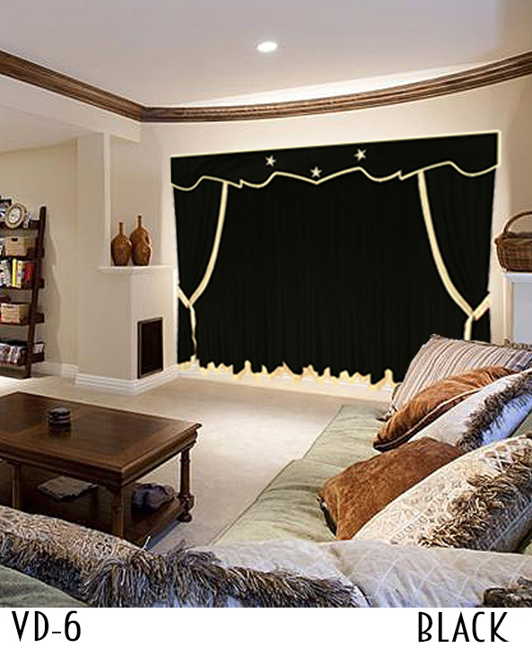 Black Movie Curtains