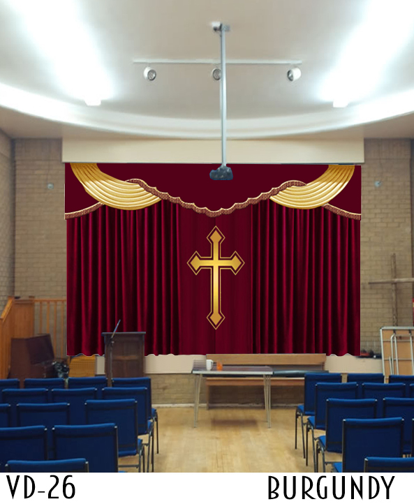 Curtains For Church Decoration