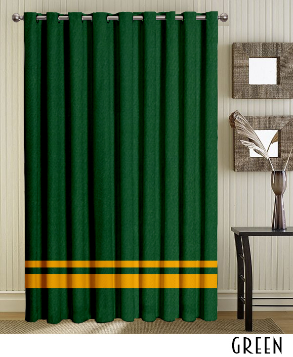 Green Grommet Curtains