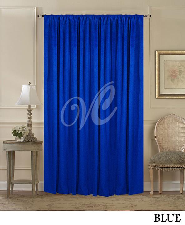Blue Room Divider Curtain