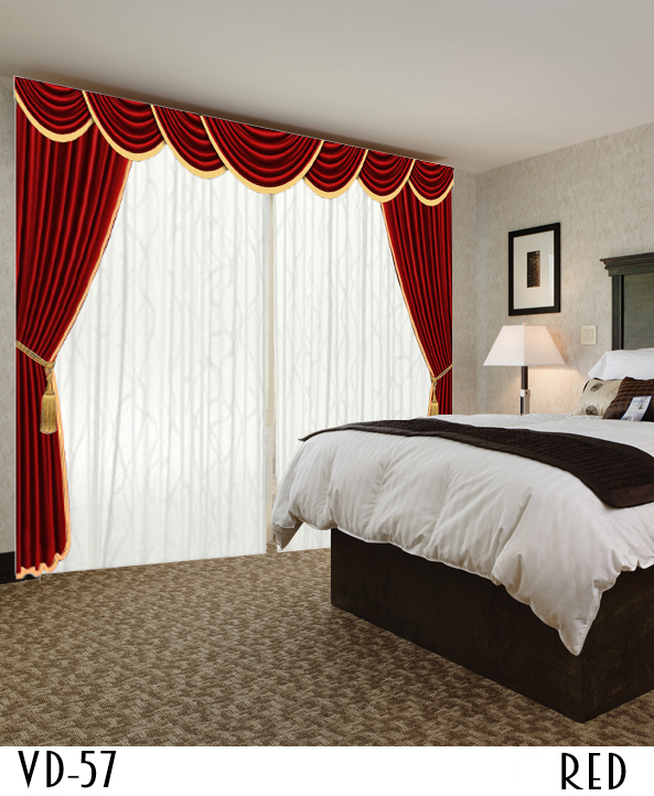 DESIGNER CURTAIN FOR HOTEL HOME HALL STUDIO OFFICE