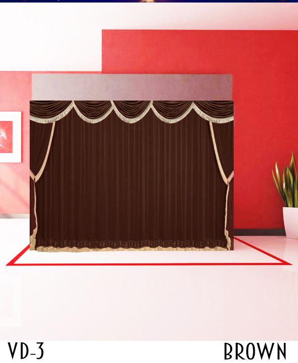 Custom Theater Stage Curtains