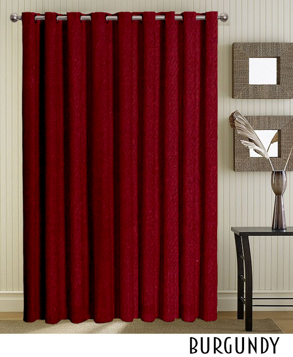 Blue Grommet Curtains