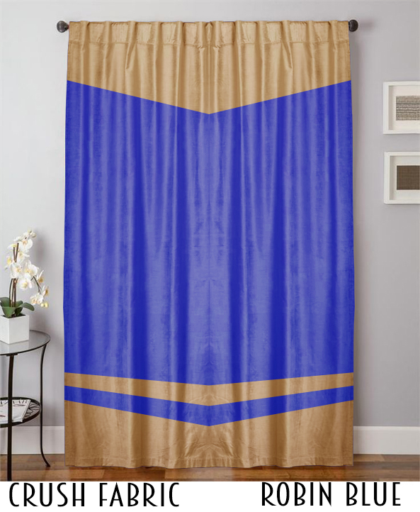 Decorative Backdrop Crush Velvet Curtain