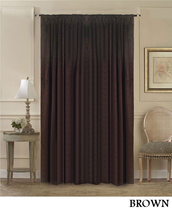 Black Velvet Curtain Panels