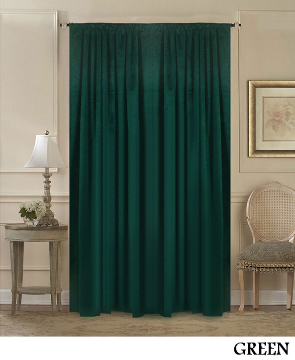 Partition Velvet Curtains
