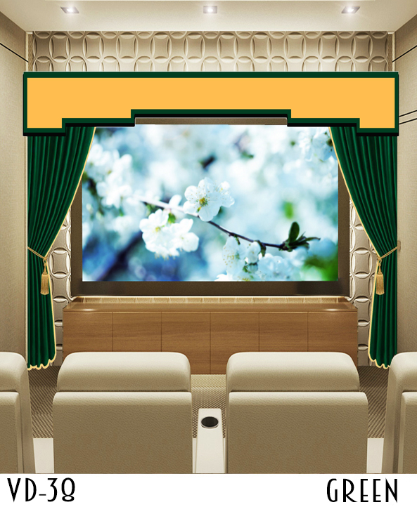 Theater Movie Velvet Curtains Drapes