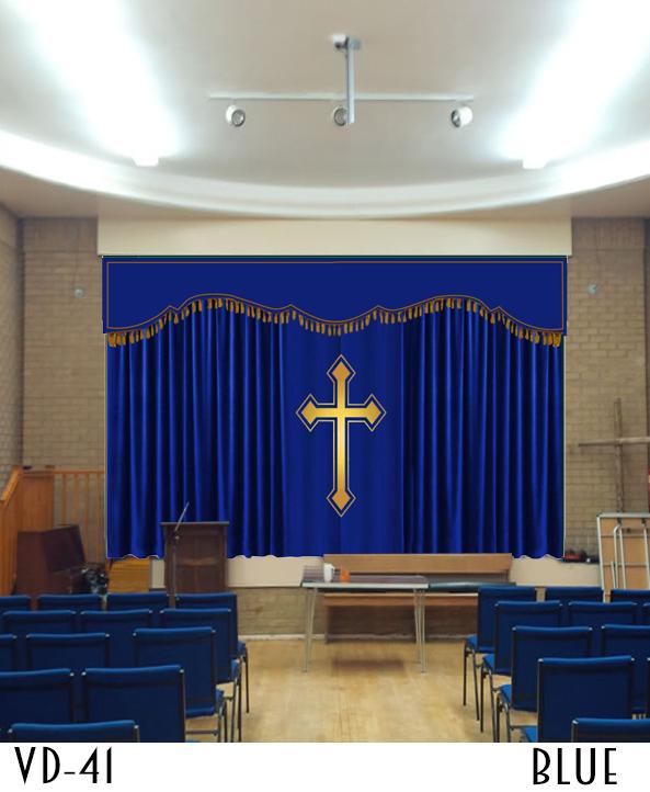 Decorative Curtain For Church Decor