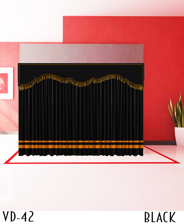 Best Stage Decoration Curtains