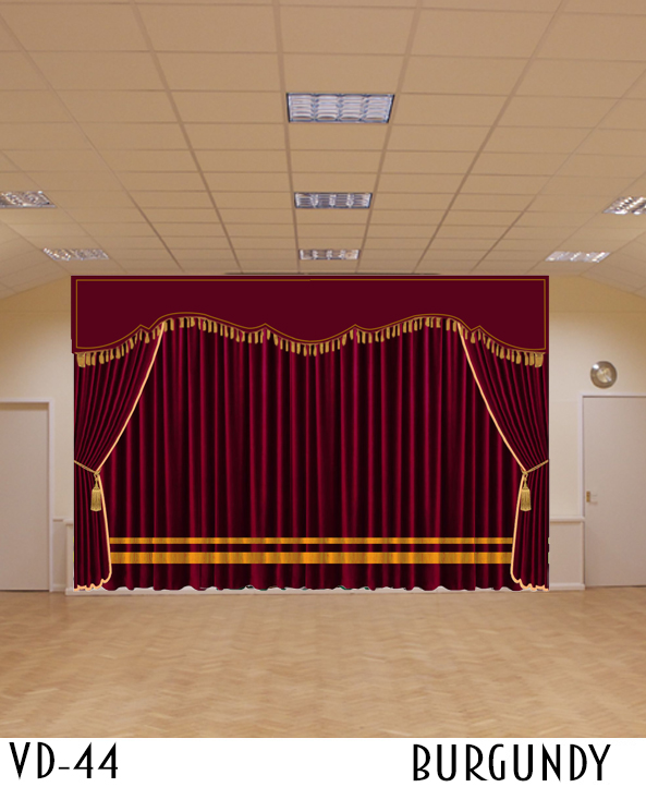 Luxury Curtain For Stage Hall Theater