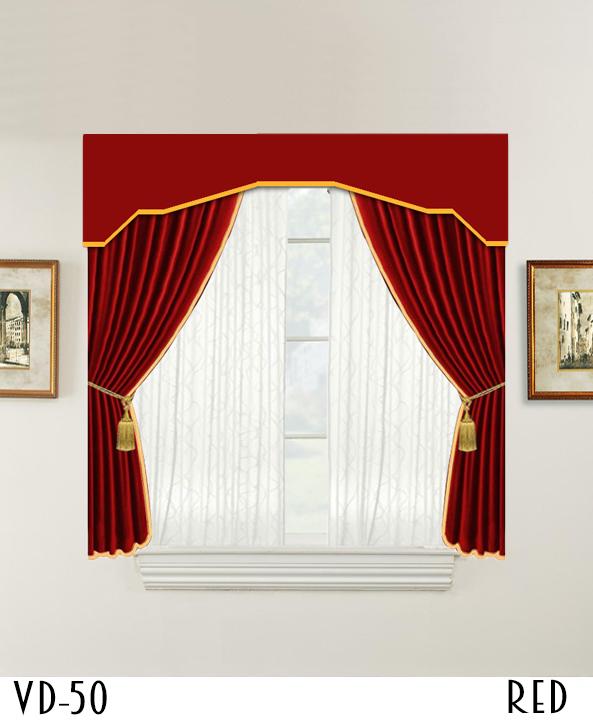 Hotel Decorative Window Door Curtain