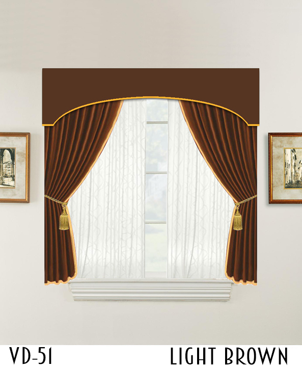 Hotel Decorative Door Window Room Curtain