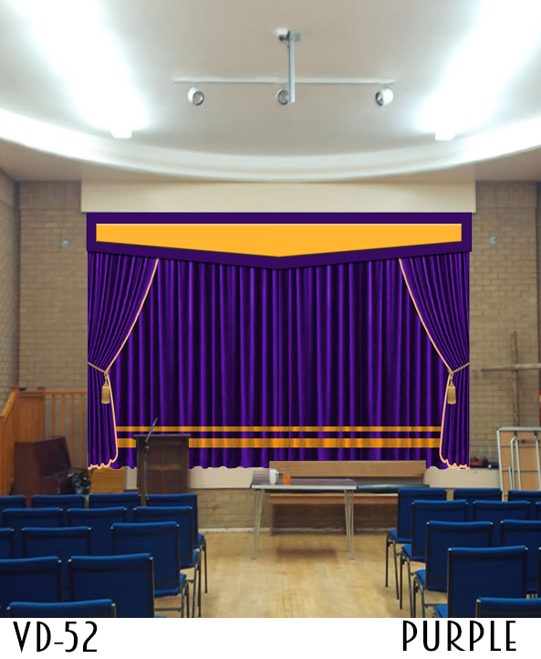 Unique Design Stage Curtain
