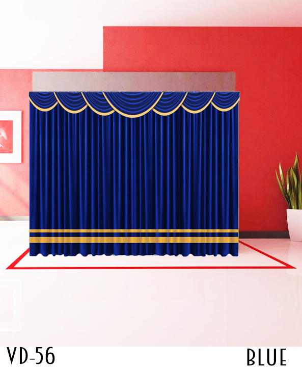 Decorative Curtain For Stage