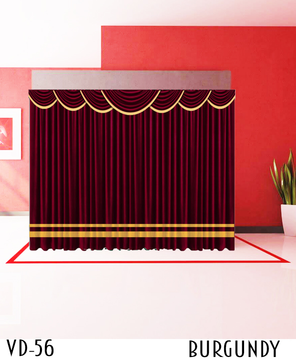 Decorative Curtain For Hotel