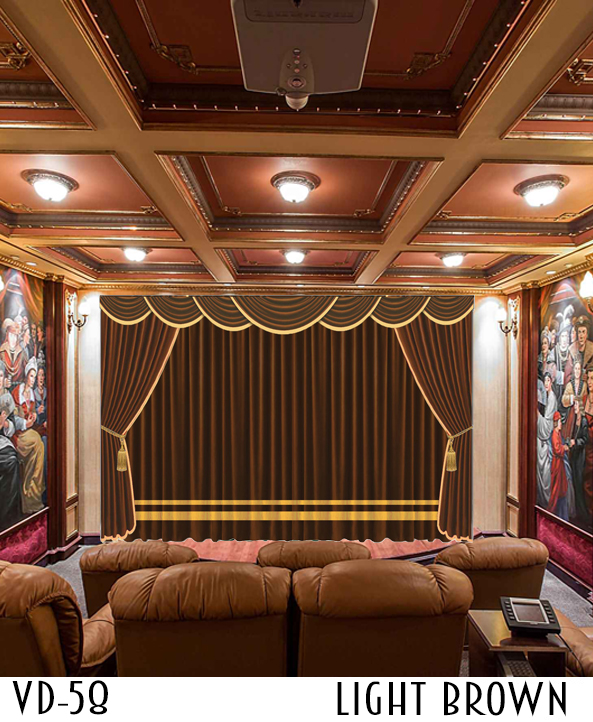 LUXURY CURTAIN FOR Restaurant HALL THEATER EVENTS