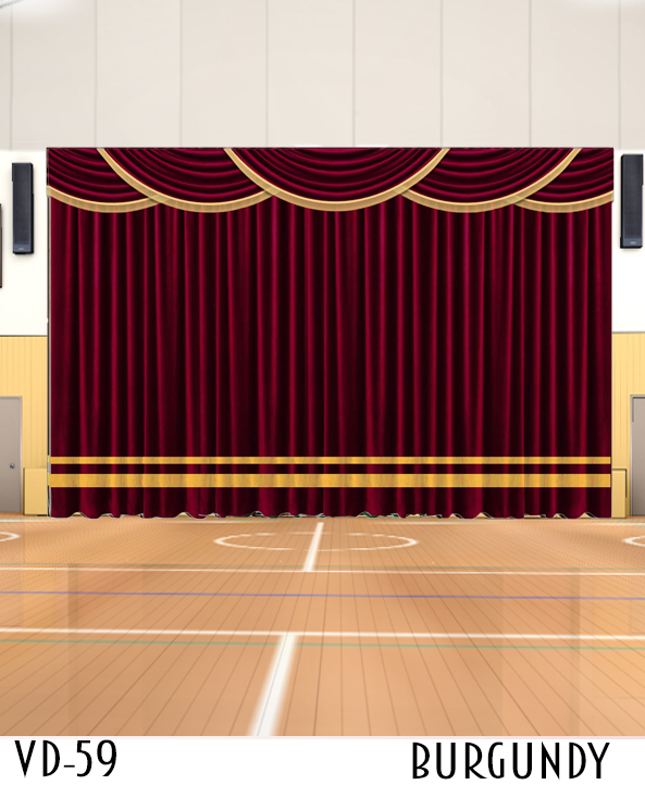 DECORATIVE CURTAIN FOR Stage DECOR