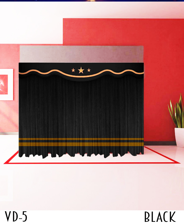 Stage Velvet Curtain For Sale