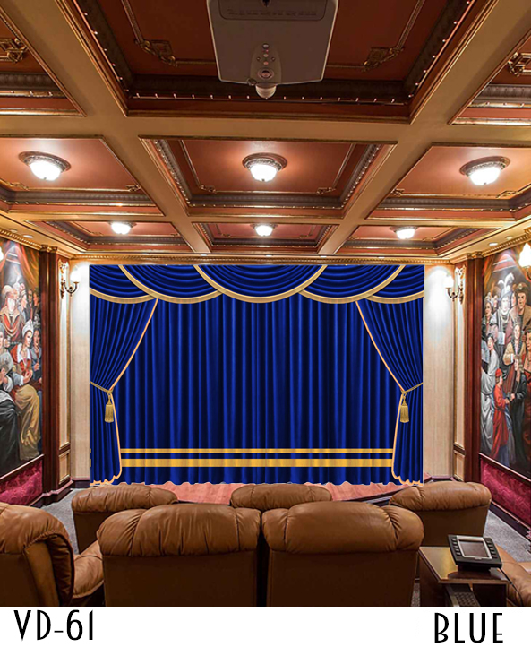 LUXURY CURTAIN FOR Restaurant HALL THEATER EVENTS DECOR