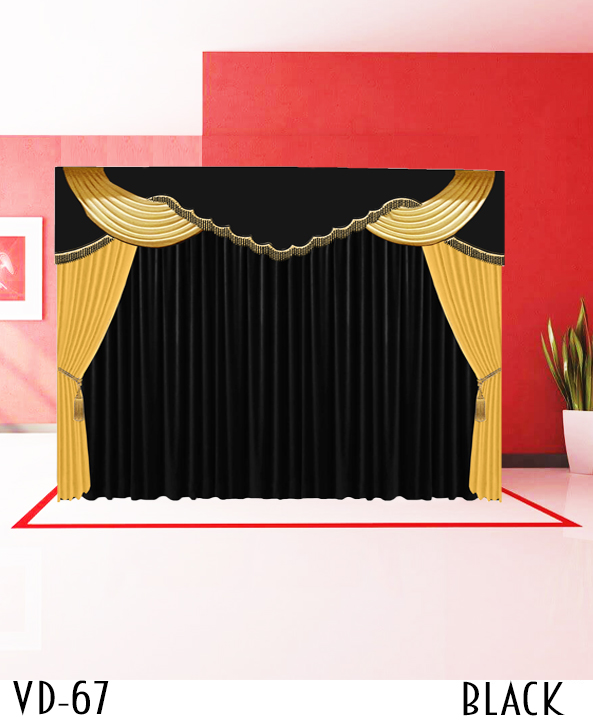 New Design Decorative Stage Curtain