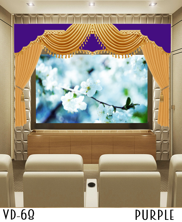 Custom Home Theater Movie Stage Curtains For Sale