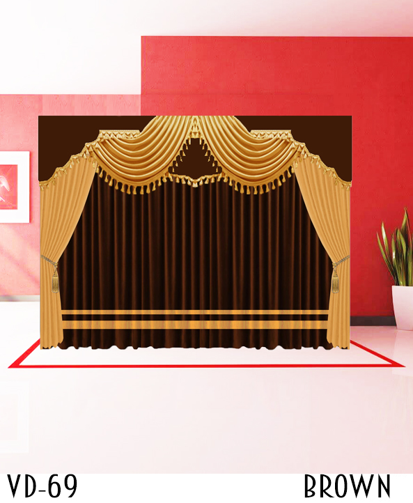 Luxury Stage Hotel School Curtains