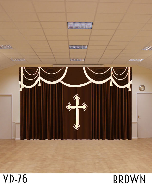 Curtains For Church Sanctuary Drapes Altar